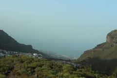 Rutt till Mascaen, Tenerife, Spanien Royaltyfria Foton