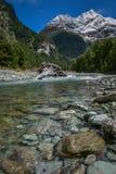 Ruttbrännskadaflod 1 Arkivfoton