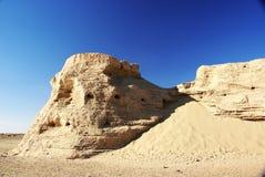 rutten vägg för forntida stad royaltyfria foton