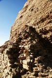 rutten vägg för forntida stad royaltyfri bild