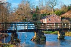 Rutter Kraft-Fuss-Brücke Lizenzfreies Stockbild