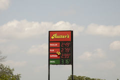 Rutter`s Gas Station sign Stock Images
