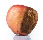 Ruttet äpple royaltyfria foton