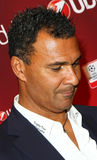 Ruud Gullit. Portrait of Ruud Gullit giving autographs at UEFA Champions League Trophy Tour held ,under sponsorship of UniCredit Bank, in oktober 2011,in Stock Images