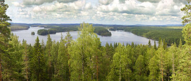 Ruuna panorama Royalty Free Stock Image