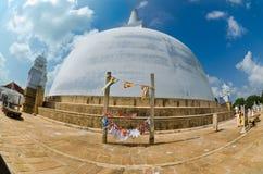 Ruvanmali Maha Stupa Anuradhapura Royalty Free Stock Photo