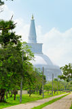 Ruvanmali Maha Stupa Anuradhapura Stock Photo