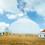 Ruvanmali Maha Stupa Anuradhapura Stock Photos