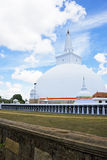Ruvanveli Dagoba, Anuradhapura, Sri Lanka Stock Photo