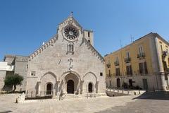 Ruvo (Apulia, Italia) - catedral vieja Imagenes de archivo