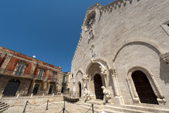Ruvo (Apulia, Italia) - catedral vieja Fotografía de archivo libre de regalías