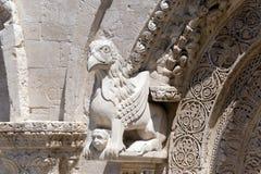 Ruvo (Apulia, Italien): Alte Kathedrale Lizenzfreies Stockbild