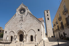 Ruvo (Apulia, Italy) - Old cathedral Stock Image