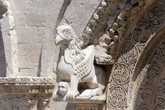 Ruvo (Apulia, Italy): Old cathedral Royalty Free Stock Image