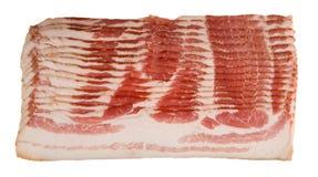 Ruw Bacon Royalty-vrije Stock Foto