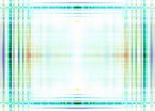 Ruw blauw lijnenkader Royalty-vrije Stock Foto