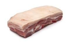 Ruw de buikvlees van het Varkensvlees stock foto's