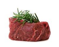 Ruw filethaakwerklapje vlees Stock Afbeeldingen