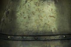 Ruw gegoten van brons als achtergrond of achtergrond Stock Fotografie