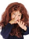 Ruw, grappig jong geitje Royalty-vrije Stock Foto