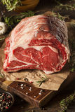 Ruw Gras Fed Prime Rib Meat royalty-vrije stock afbeelding