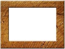 Ruw houten kader Stock Afbeelding