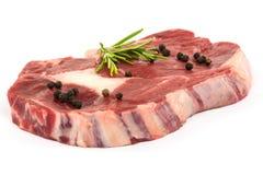 Ruw lapje vlees stock foto