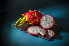 Ruw Organisch Dragon Fruit Royalty-vrije Stock Afbeelding