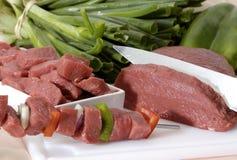 Ruw Rundvlees Royalty-vrije Stock Afbeelding