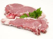 Ruw rundvlees Royalty-vrije Stock Afbeeldingen