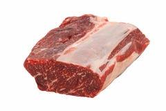 Ruw rundvleesentrecôte Royalty-vrije Stock Foto