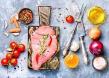 Ruw rundvleesvlees royalty-vrije stock fotografie