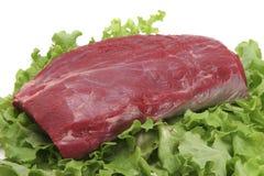 Ruw rundvleesvlees Royalty-vrije Stock Foto's