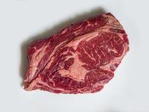 Ruw rundvleesvlees Royalty-vrije Stock Afbeeldingen