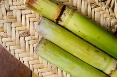 Ruw Suikerriet Royalty-vrije Stock Afbeeldingen