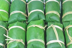 Ruw Thais traditiedessert Royalty-vrije Stock Foto's
