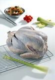 Ruw Turkije dat bereid is om te koken Stock Afbeeldingen