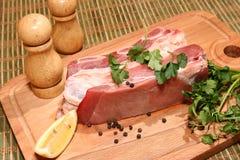 Ruw vlees Royalty-vrije Stock Afbeelding