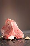 Ruw vlees met copyspace Stock Foto