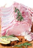Ruw vlees, vers varkensvlees stock afbeeldingen