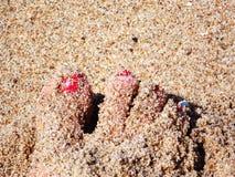 Ruw zand royalty-vrije stock afbeelding
