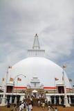 Ruwanweli saya in Anuradhapura Royalty Free Stock Images