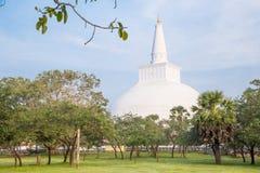 Ruwanwelisaya, Stupa, Dagoba,阿努拉德普勒斯里兰卡 库存照片
