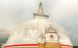 Ruwanwelisaya dagoba Royalty Free Stock Photos