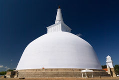 Ruwanwelisaya stupa Royalty Free Stock Photos