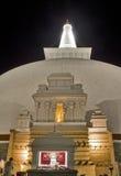ruwanweliseya för anuradhapura 5 fotografering för bildbyråer