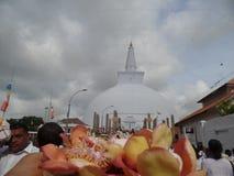 Ruwanweliseya Sri Lanka, Anuradhapuraya fotos de archivo