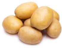 Ruwe aardappel stock foto's