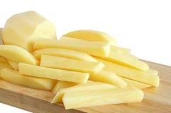 Ruwe aardappel stock fotografie