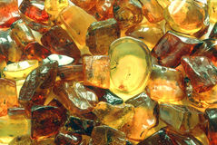Ruwe amber Royalty-vrije Stock Fotografie
